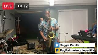 """Reggie Padilla live on his 10MFAN  Robusto Tenor Sax Mouthpiece. """"Love is here to stay"""""""