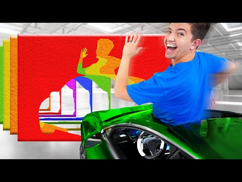 Driving Through IMPOSSIBLE Shapes! - Challenge