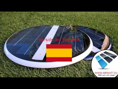 Iluminación subacuática con Energía Solar. Iluminación LED para piscinas y fuentes. Luminaria solar