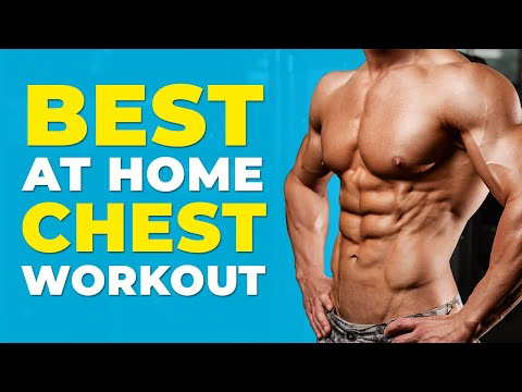Best at Home Chest Workout   Bodyweight Only   Alex Costa