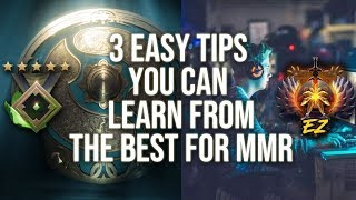 DotA | 3 Easy Tips that you can learn from Pros for MMR