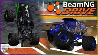 Big WOW Moments!   BeamNG Drive   Monster Trucks