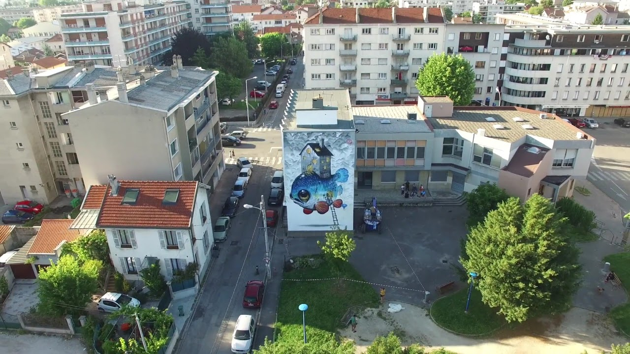 street art murual painting by veks van hillik