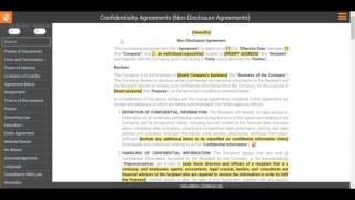 Drafting a Non-Disclosure Agreement: Representations & Warranties