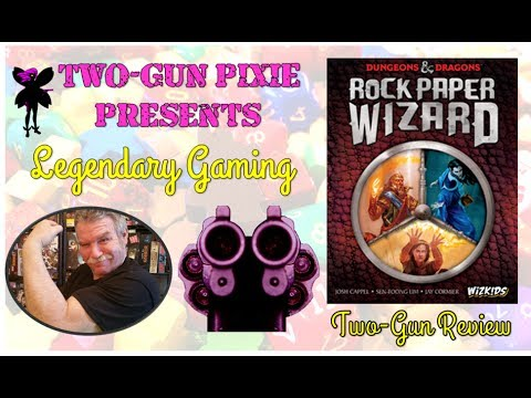 Two-Gun Review 011 - Rock Paper Wizard by Wizkids