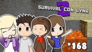 EL TEAM REACCIONA A SU BROMA *CAEN EN LA TRAMPA SECRETA* | Survival con Lyna 2 | Episodio 168