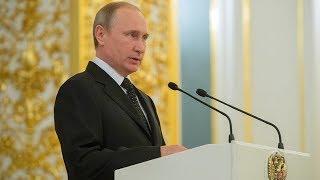 Putin addresses Russian ambassadors and permanent representatives