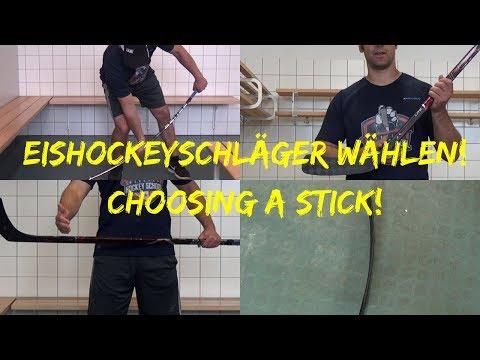 Eishockeyschläger richtig wählen