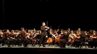 Mozart モーツァルト -Concierto para violín No. 3 (OJSG. Roberto González, violín) Segundo movimiento