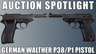[AUCTION] German Walther P1 9mm Pistol - SN# 432910Z