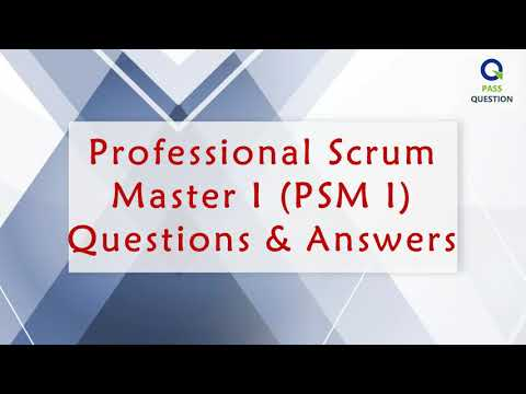 PSM I Exam Questions - Professional Scrum Master I - YouTube