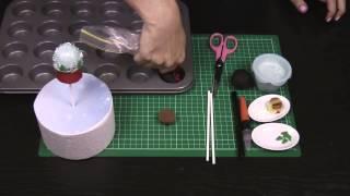 Christmas Cake Pops! Make Snow Globe Cakepops For Xmas - A Cupcake Addiction How To Tutorial