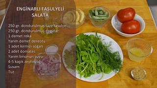 Enginarlı Fasulyeli Salata Tarifi