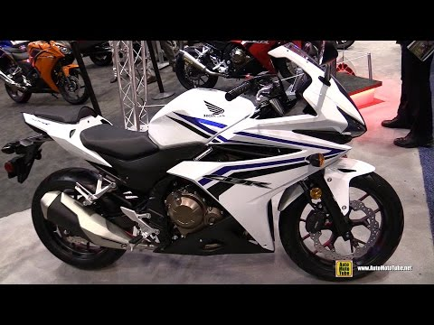 2016 Honda CBR500R - Walkaround - Debut at 2015 AIMExpo Orlando