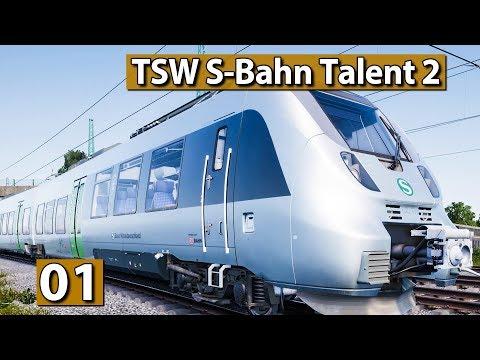 Train Sim World 🚄 DEUTSCHER ZUG Talent 2 DB BR 1442 S-Bahn  🚆 #24 Rapid Transit DLC deutsch german