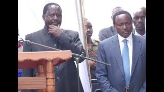 Raila Odinga asks Uhuru to hang him immediately after taking oath on 31st January 2018
