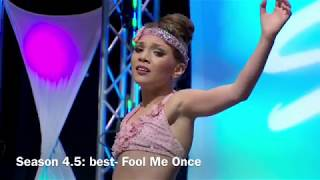 DANCE MOMS BEST AND WORST SOLOS FROM EACH SEASON
