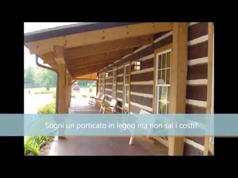 Devo fare un piccolo porticato in legno a fianco al garage for Quanto costruire un piccolo garage