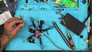 Live RMA - HGLRC Arrow3 VTX Repair and Table Setup from Cyclone FPV