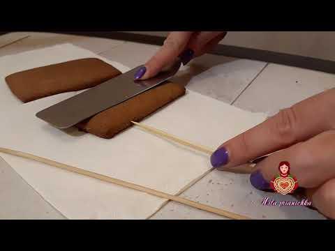 Как сделать имбирный пряник в виде ноутбука
