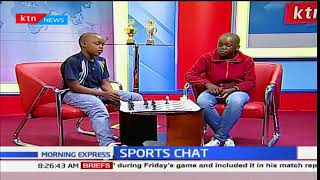 Professional boxer, Hellen Wafula on Sports Chat