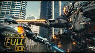 Pacific Rim Uprsing-Gipsy Avenger vs Obsidian Fury[First Battle][Fight Scene]