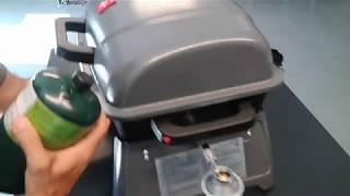 Assembling portable propane gas BBQ grill