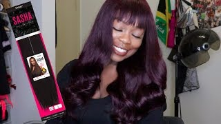 Big Soft Curls | Outre Sasha 100% Yaki Human Hair