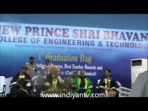 New Prince Shri Bhavani College of Engineering and Technology video cover1