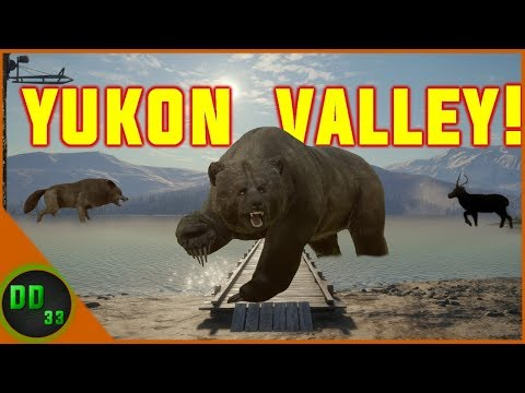 Hunting The NEW Map YUKON VALLEY in Call Of The Wild!!