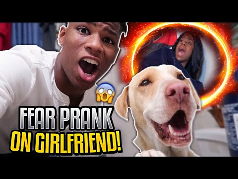 SURPRISING MY GIRLFRIEND WITH HER BIGGEST FEAR!!! ** SHE CRIED**