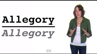 AP English Literature and Composition Terms   ALLEGORY   60second Recap®