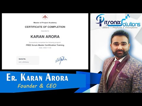 FREE Scrum Master Certification Training - Scrum Product Owner ...