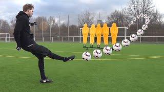 How To Shoot Like Calhanoglu & Pjanic | Curve Free Kick Tutorial | freekickerz