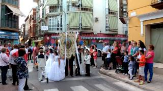 preview picture of video 'PROCESION DE SAN ISIDRO LABRADOR DAIMIEL 2012'