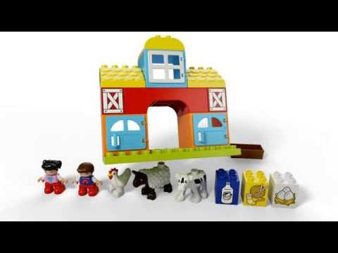 Конструктор Моя первая ферма - LEGO DUPLO - фото № 4