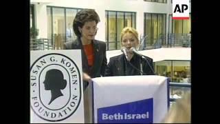 USA: UN GOODWILL AMBASSADOR GERI HALLIWELL PLEDGE