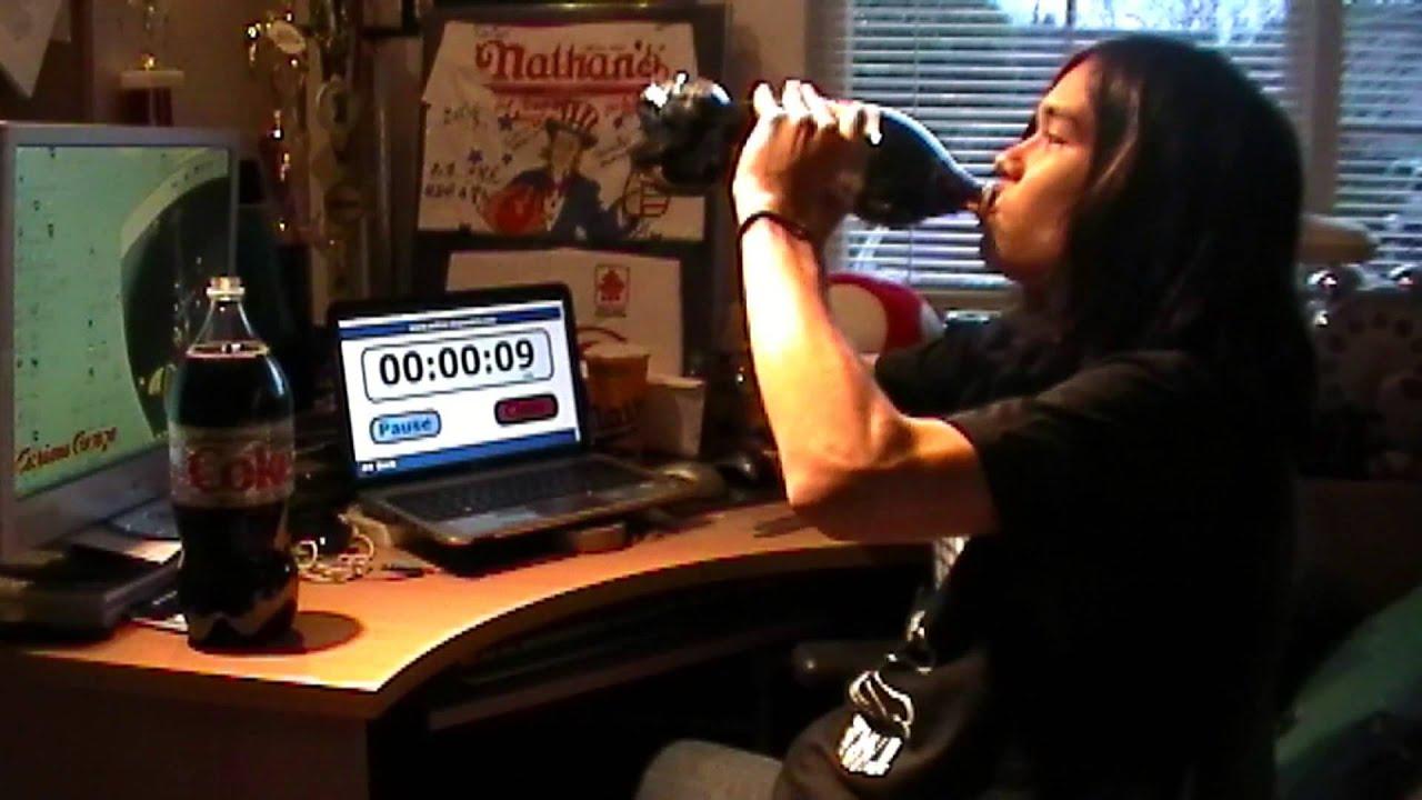 2L Diet Coke No Burp Challenge thumbnail