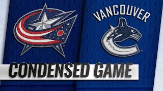 03/24/19 Condensed Game: Blue Jackets @ Canucks