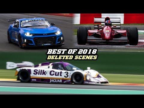 BEST OF 2018 - Deleted scenes (Camaro GT4, XJR12, 250 GTB, GT86 cup, Cordoba WRC, )
