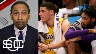 Stephen A. Smith lists off the young Lakers who impress him | SportsCenter | ESPN