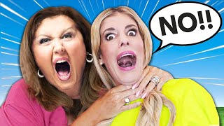 Saying YES to ABBY LEE for 24 HOURS (Dance Moms Challenge)