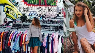 Back to School Thrift with Me + Haul  (ep. 3)