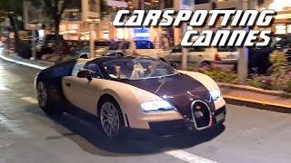 DE RETOUR DANS LE SUD ! CARSPOTTING à CANNES !! (Veyron / Zagato Vanquish ....)
