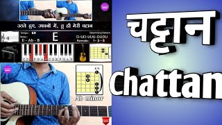 Chords & Lyrics || चट्टान CHATTAN || Guitar   - YouTube