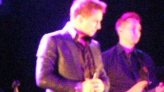 You Raise me up John Barrowman Southend 16.05.15 You Raise me up tour
