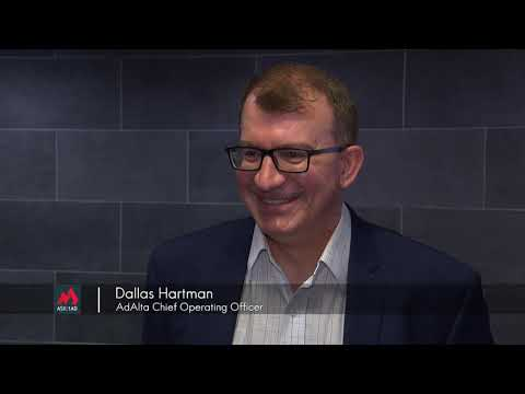 Interview with Dallas Hartman, AdAlta Chief Operating Officer