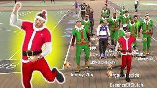 SANTA IN THE PARK!?! CHRISTMAS SPECIAL NBA2K17