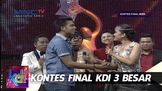 Mukhlis Bantuin Julia Perez Bangun - Kontes Final KDI 3 Besar (2/6)