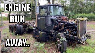 Will It Start? 1960's Mack Diesel Truck sitting 10 Years....